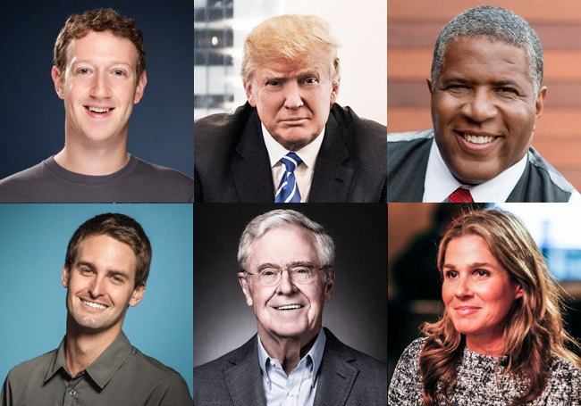 The Richest People In America List