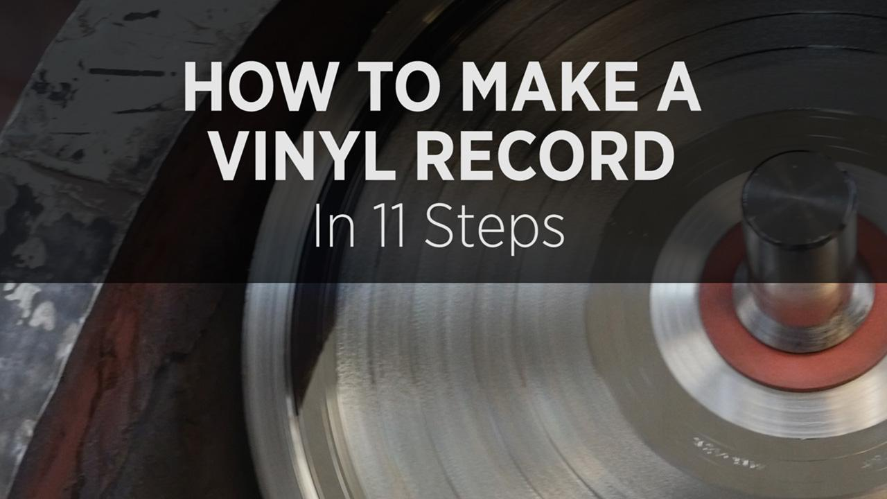 how to make a vinyl record in 11 steps. Black Bedroom Furniture Sets. Home Design Ideas