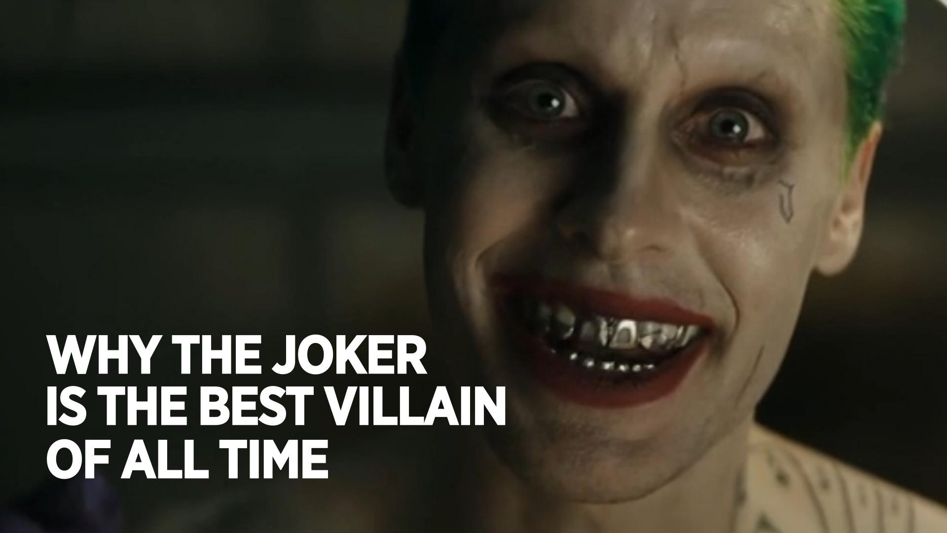 Why The Joker Is The Best Villain Of All Time