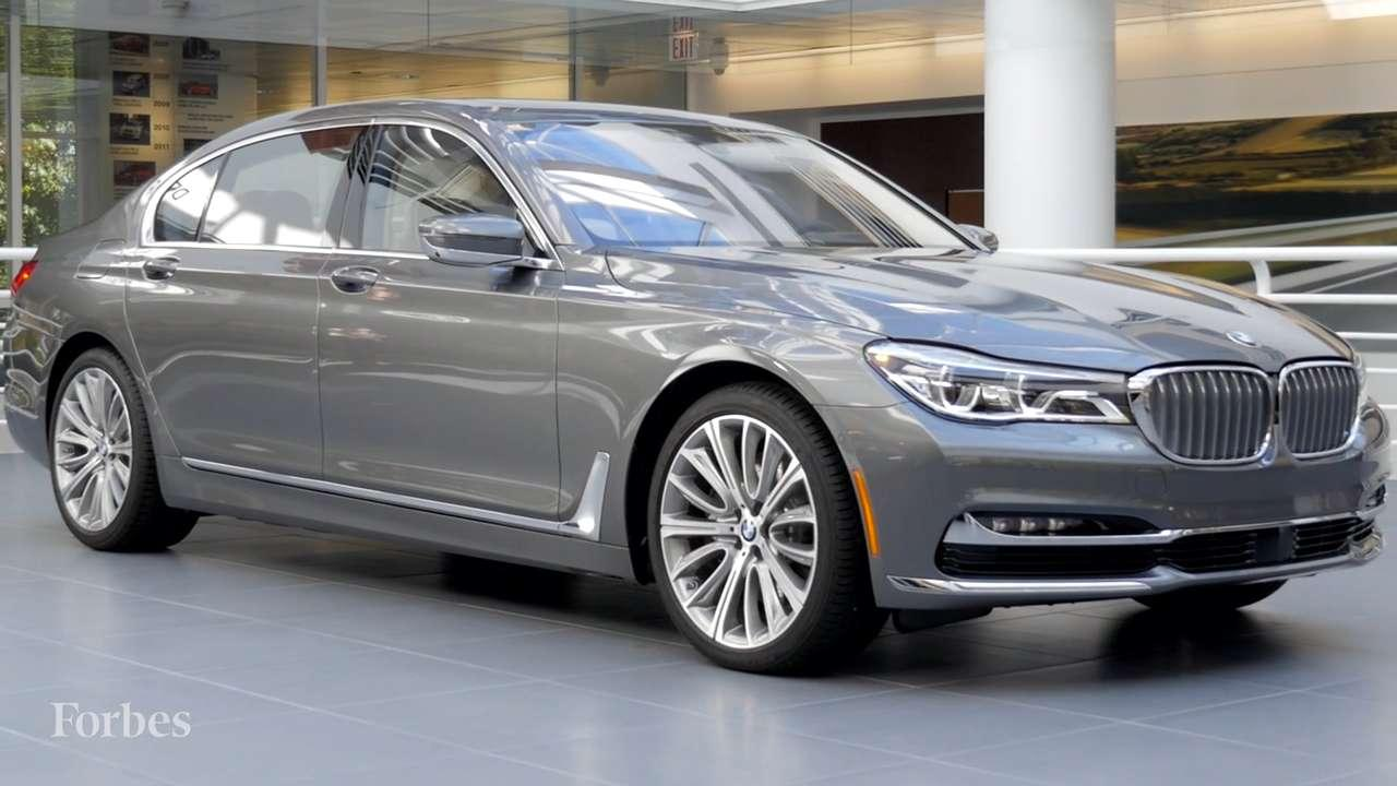 Inside The 2016 BMW 7 Series