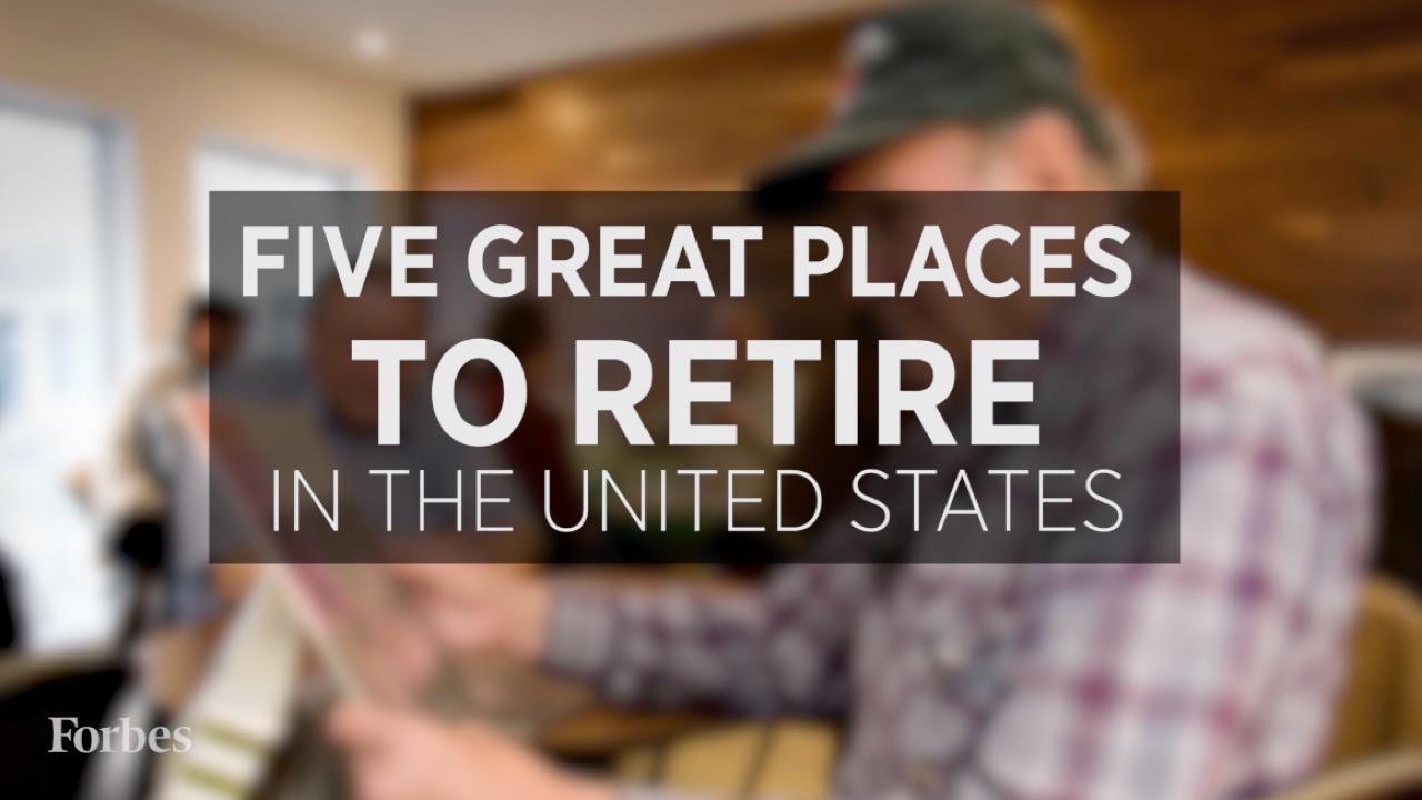 17 best places to retire in the united states for Top 5 places to live in usa
