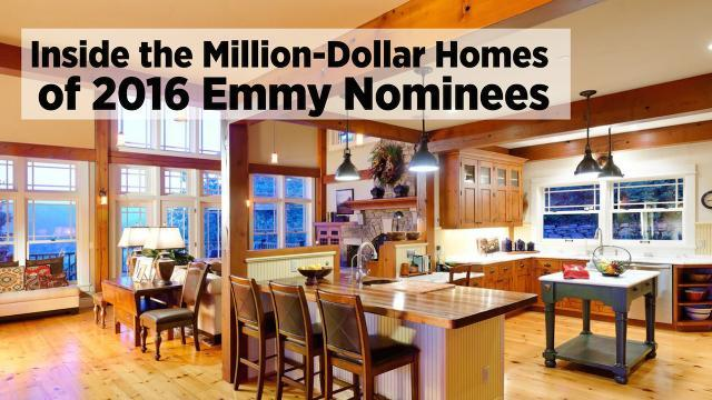 Inside The Million Dollar Homes Of 2016 Emmy Nominees
