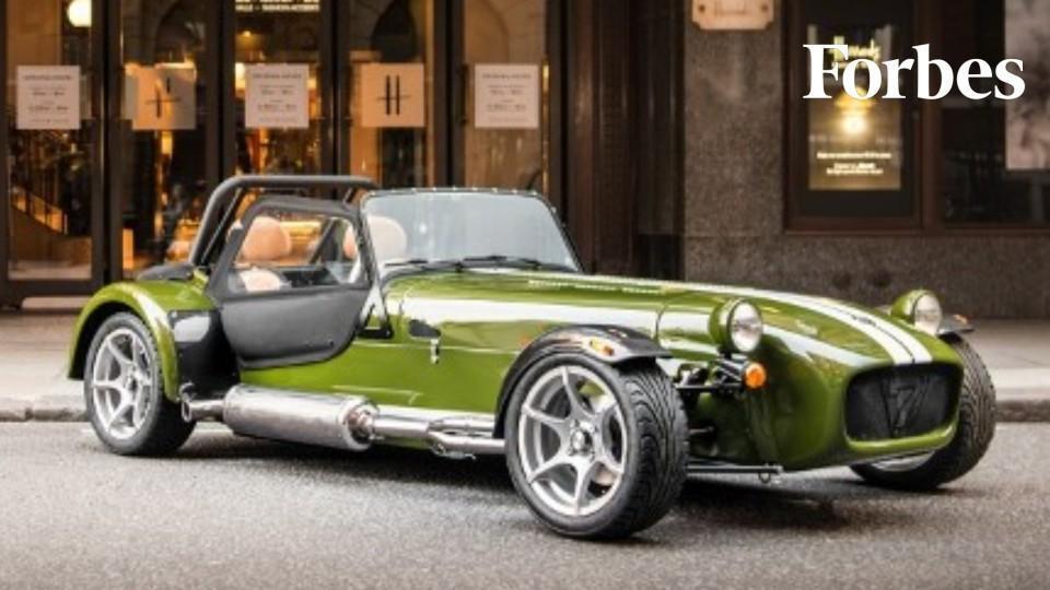 british carmaker caterham debuts bespoke model created in