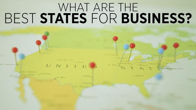 Best States For Business 2016