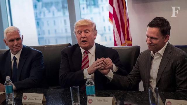 Donald Trump To Tech Leaders: I'm On Your Side